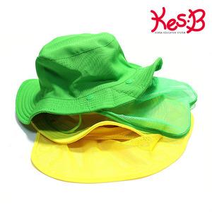 캐스B네이처 숲모자 망사형(초록/노랑)