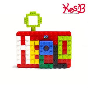 [코레샵단독상품]캐스B플레이 레고카메라